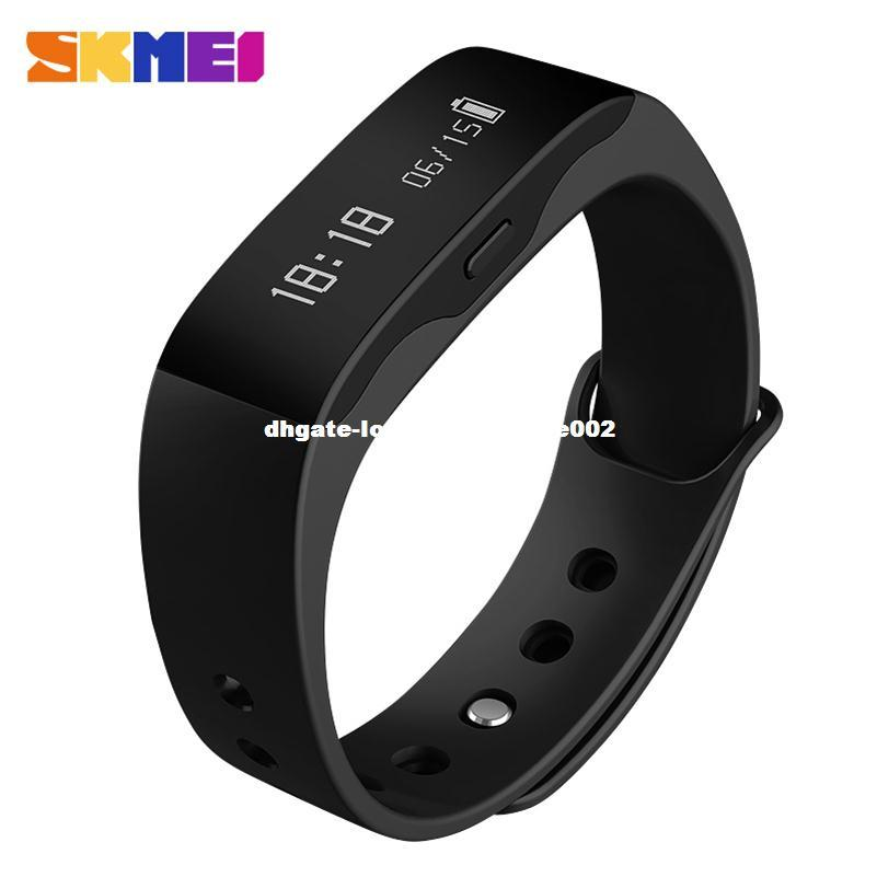 pressure fitness smartch watches bracelet screen oled pin pedometer tracker monitor heart blood wristband smart rate