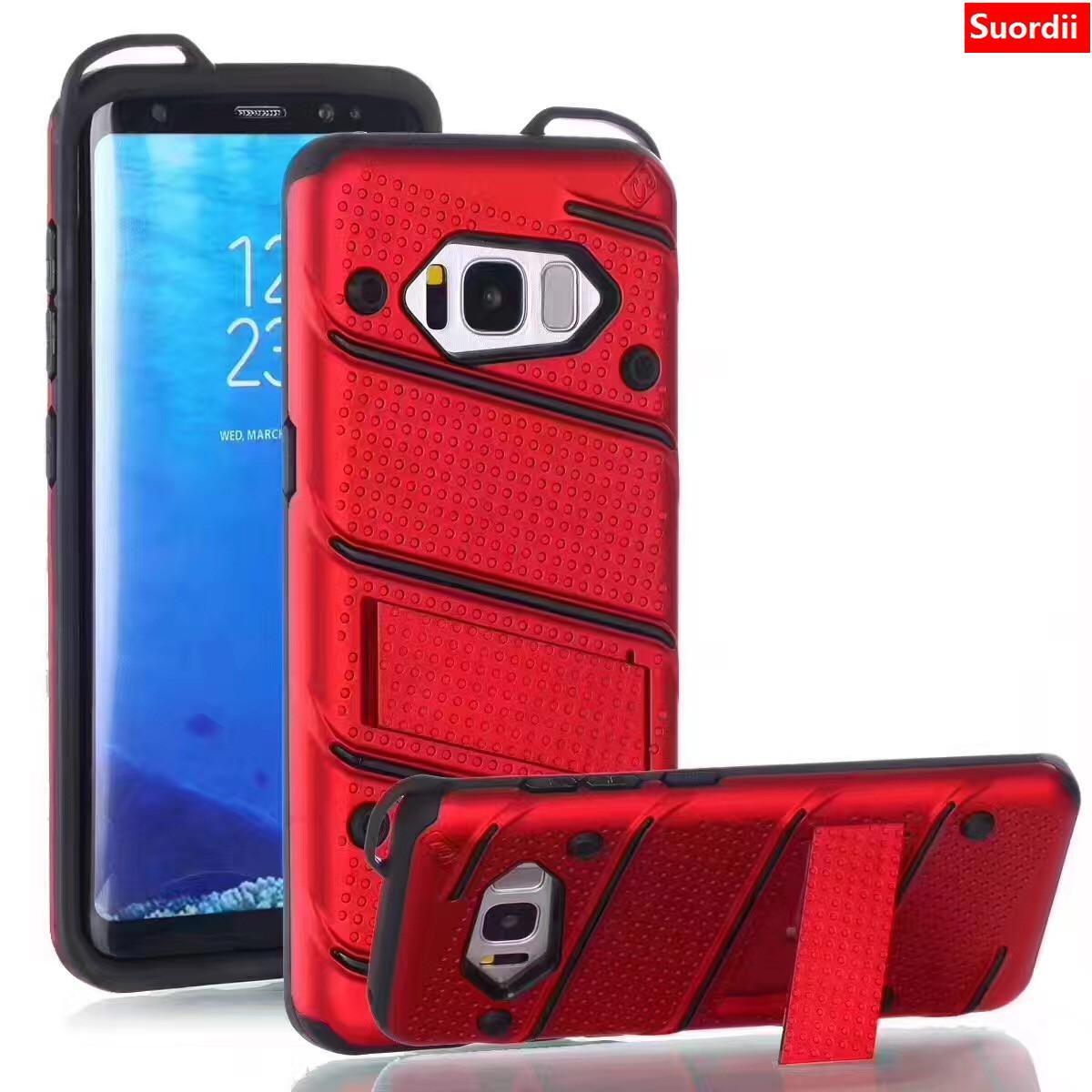 Kickstand caja del teléfono para Samsung Galaxy J2 j5 j7 prime grand prime prime g530 s7 edge TPU + PC estuche rígido Armadura híbrida Contraportada