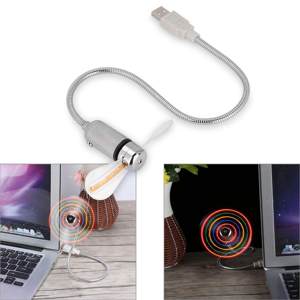 mini portatile flessibile piegabile del USB del computer del computer portatile del PC del PC LED che accende il trasporto libero 0001