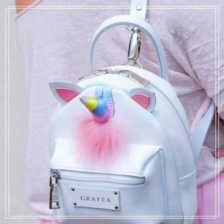 d00936e59646 Korean Style PU Unicorn Backpack Cartoon Colorful Unicorn Shoulder Bag Kids  Rainbow Unicorn School Bag Teenager Handbag CCA8171 Womens Backpacks Pink  ...