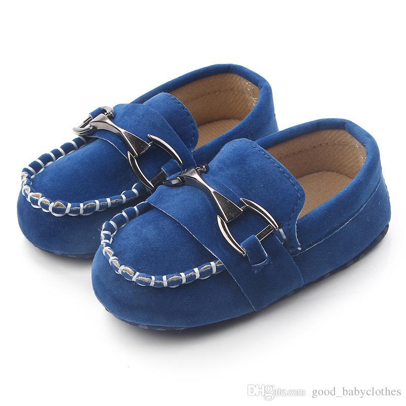 Nouveaux Chaussures bébé bébé Premiers Walkers Soft Sole Sole Sole Toddlers Chaussures Cool Nouveau-né Bebe Chaussures Casual
