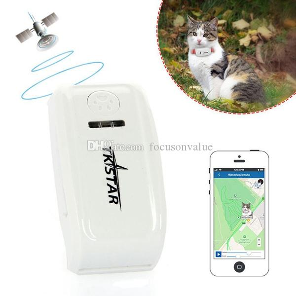 super mini Gps tracker TK909 long standby time dog cat Pet personal gps tracker for IOS /Andriod App free website service