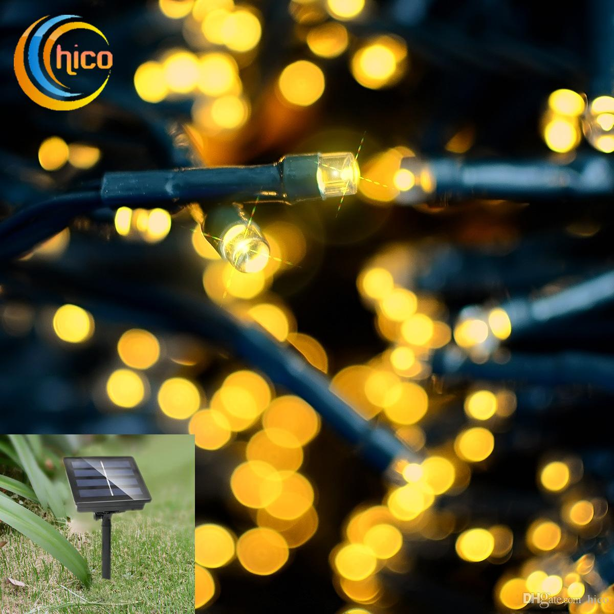 solar string lights outdoor led christmas lights led solar lights 22m 200 leds 8 modes solar power outdoor waterproof solar string lights led christmas