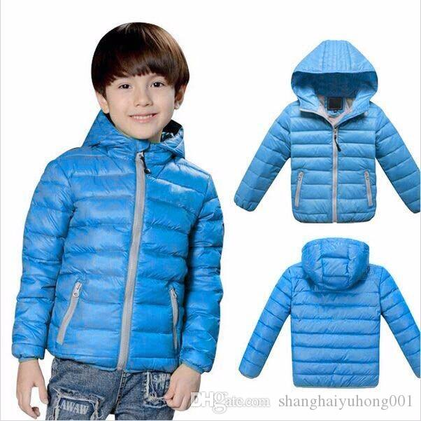 Children'S Outerwear Kids Boy Girl Winter Warm Hooded Coat ...
