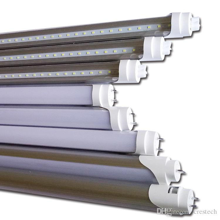 2ft 3ft 4ft 5ft traic dimmbare t8 led silikongesteuerte gedämpfte integrierte t8 led-lampenlampe 4ft 18w led-leuchten