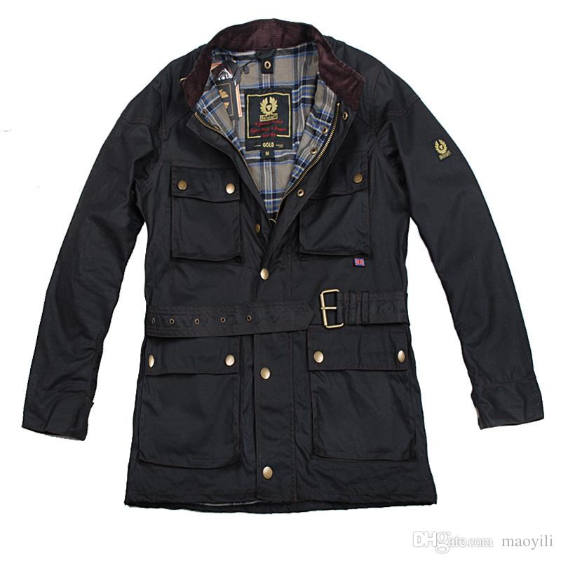 Fall Hot! Vintage Brand International Wax Cotton Man Jacket Men ...