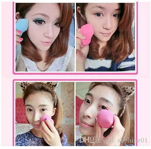 makeup sponge Cosmetic puff women makeup tool kits smooth blender foundation sponge for makeup to face care
