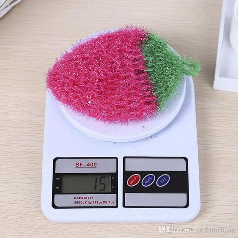 Hand Crochet Korea Yarn Square Dish Cloth Kitchen Plate Bowl Washing Cleaning Brush ZA3754