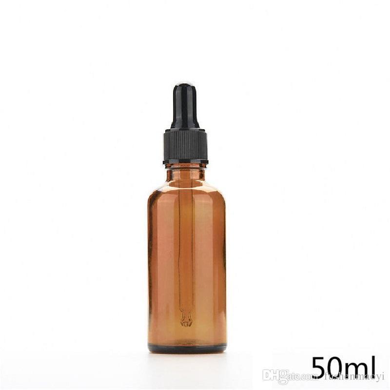 Garrafas de Pipeta Garrafas de Reagente Líquido Amber Olho Conta-gotas Aromaterapia 5 ml-100 ml Óleos Essenciais frascos de Perfumes atacado DHL livre