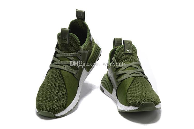 2019 Olive Green Mens Running Shoe High Quality Ultra