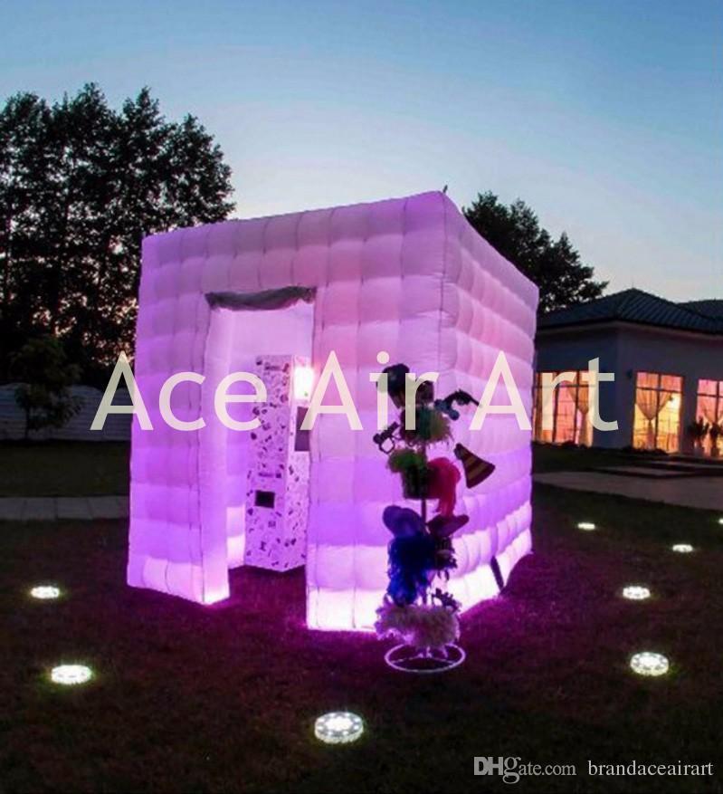 квадратный Оксфорд ,палатка куб куб напольный раздувной фото стенд реквизиты для открытый прокат