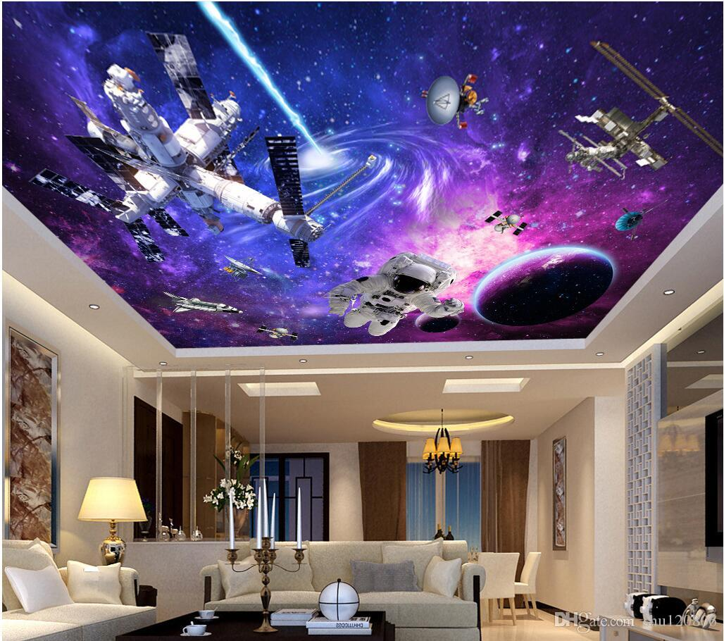 3d wall murals wallpaper for walls 3 d ceiling murals wallpaper 3d wall murals wallpaper for walls 3 d ceiling murals wallpaper custom photo non woven mural universe star space station decoration painting wallpapers amipublicfo Choice Image