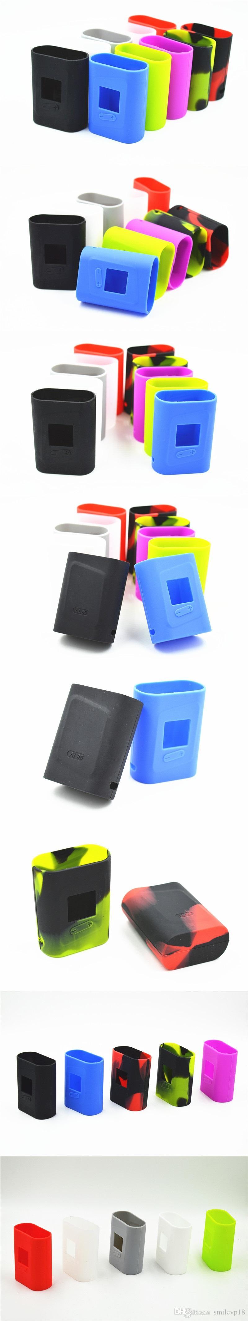 Für Smok AL85 Silikonhülle Bunte Gummi SMOK AL85W Schutzhülle Haut für Smoktech AL85W TC Box Mod Dhl-frei