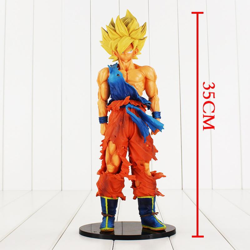 604156701e94 1pcs Super size Dragon Ball Z Son Goku Super Master Stars Piece PVC Figure  BANPRESTO Toy Free shipping