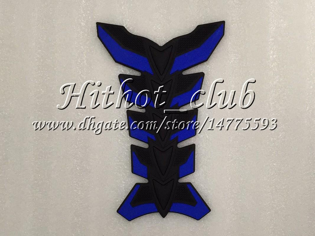 23Colors 3D Carbon Fiber Gas Tank Pad Protector For HONDA CBR600F4i 04 05 06 07 CBR600 F4i 600 F4i 2004 2005 2006 2007 3D Tank Cap Sticker