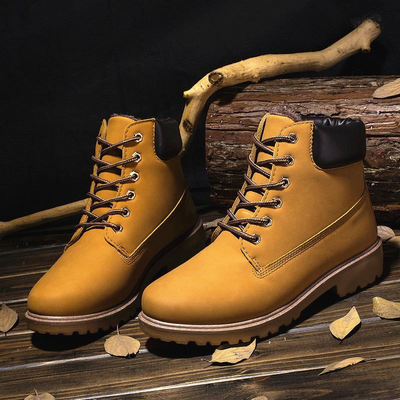 27745dccd4e High Quality Men Winter Martin Boots Warm Tooling Boots Waterproof ...