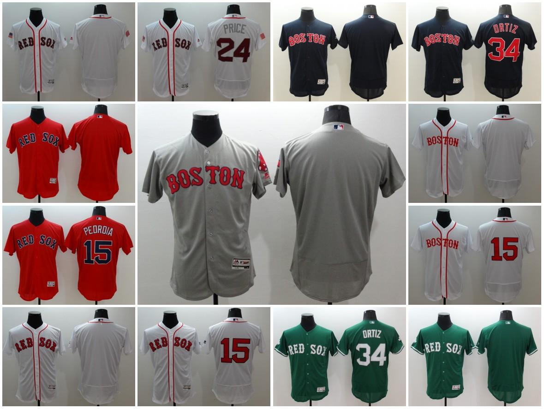 ... Elite Boston Red Sox Customized Baseball Stitched Jersey Custom Men  Women Youth 15 Dustin Pedroia 24 Womens ... 153a7e48b34
