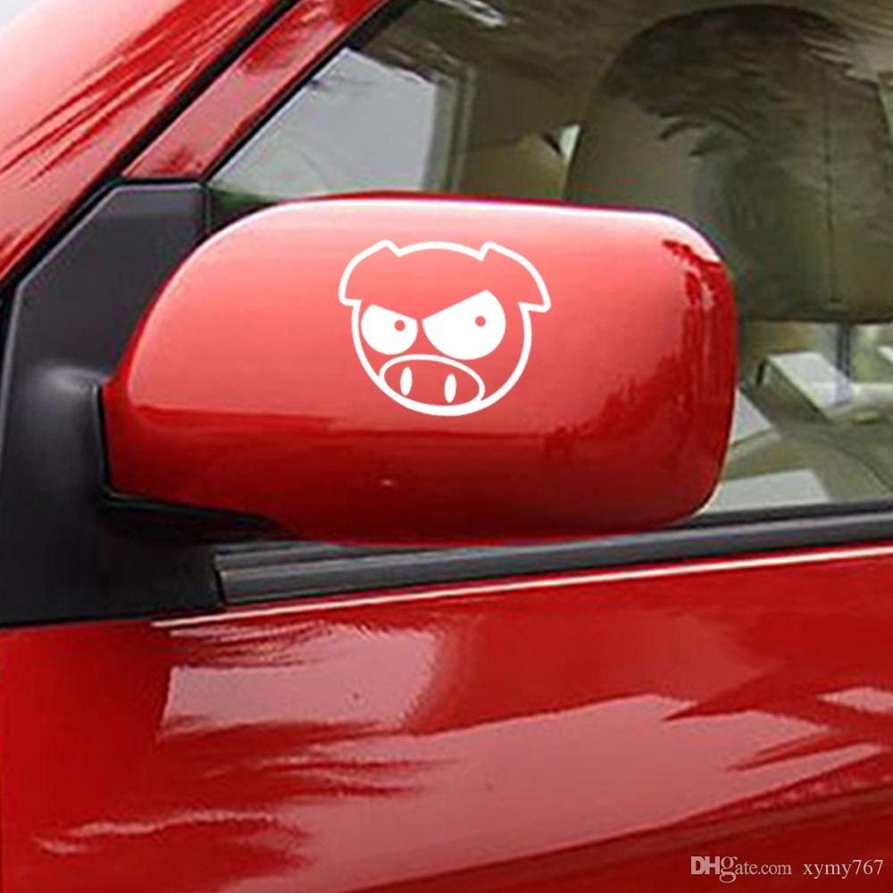 Venta caliente Evil Rally Pigs Sticker Funny Personality Decal Vinilo Jdm Car Styling Import Drift Decor Art Form