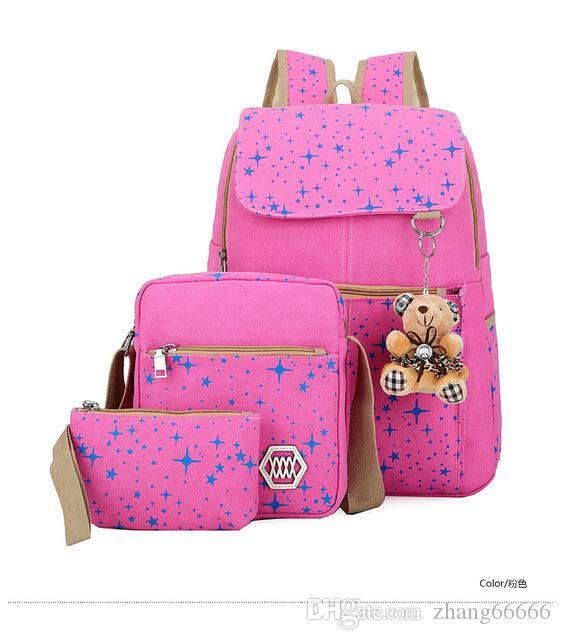 Fashion Canvas Girl School Bags Teenagers Backpack Women Shoulder Bags  Rucksack Mochila Knapsack ZDD7175 Backpacks For Men Jansport Big Student  Backpack ... 7bf5ecc3a3