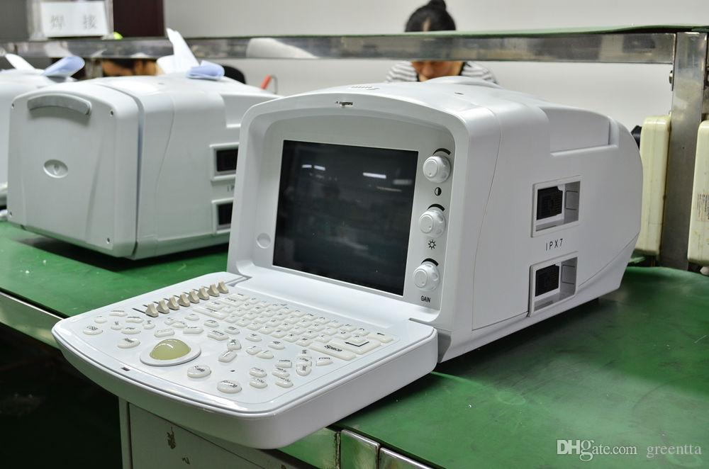 Laptop Ultrasound Scanner Machine With convex, linear, transvagional, micro-convex probes, Good Quality Image For Human Ultrasound