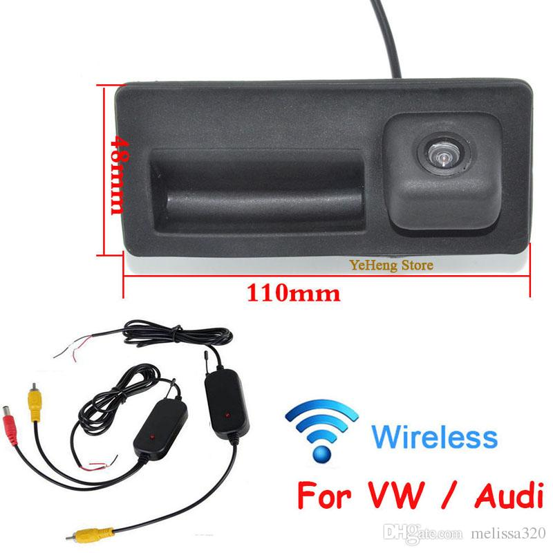 WIRELESS HD 170 wIDE ANGLE CAR REAR VIEW CAMERA BACKUP FOR VW LAVIDA PASSAT SHARAN GOLF CCD HD Wide Angle Camera, Free Shipping