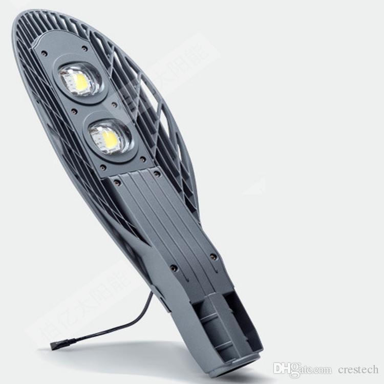 Trabajo automático en la noche LED luces de calle Panel solar lámpara de carretera a prueba de agua IP65 iluminación exterior 10W 12W 20W iluminación anti
