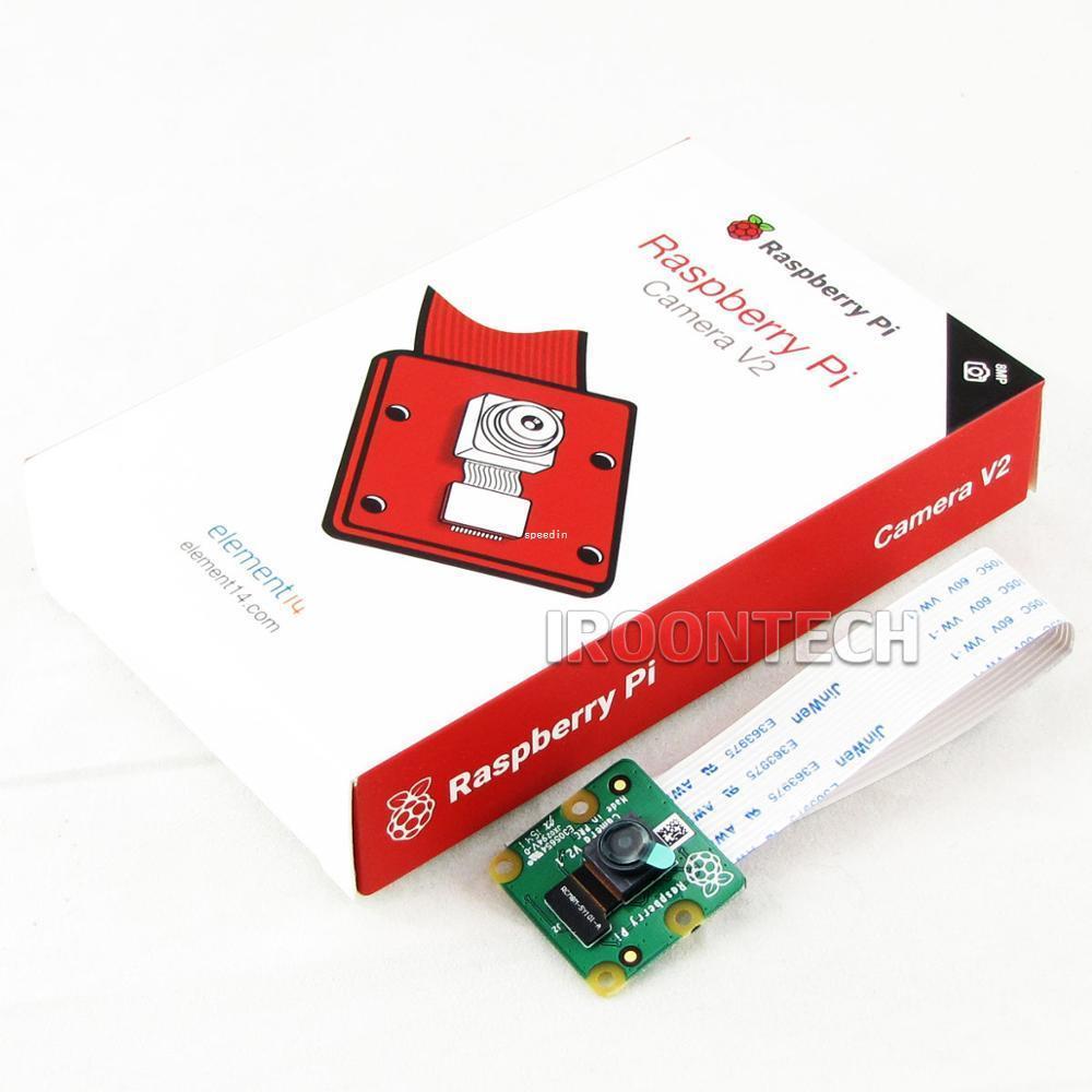 Freeshipping v2 1 Original 8MP Raspberry Pi 3 Camera module 8 megapixel  IMX219PQ sensor 8MP Raspberry pi camera support 1080P 720P VGA90