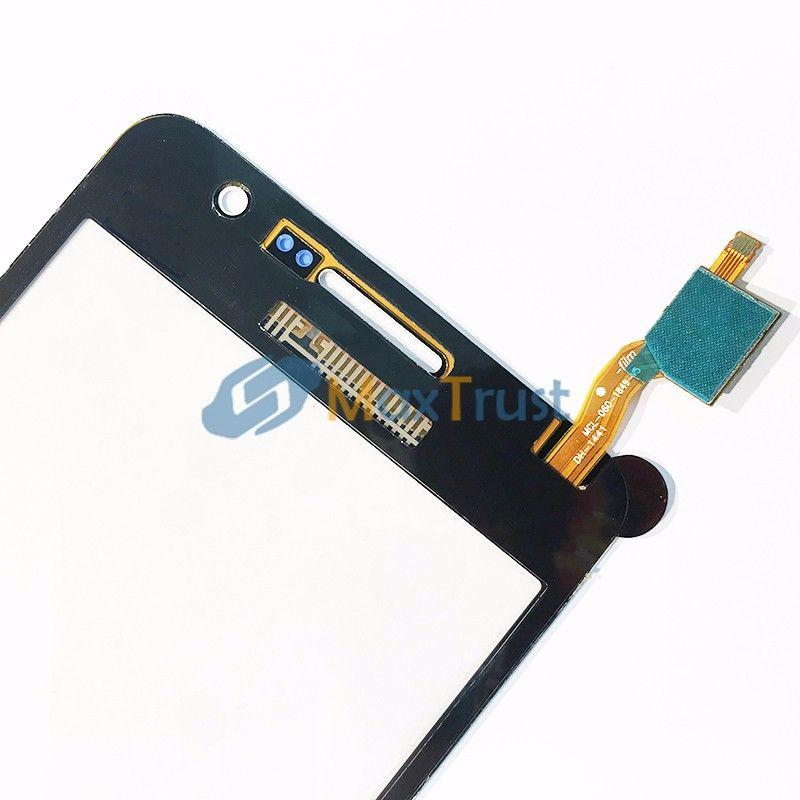 IC original para Samsung Galaxy Grand Prime G531F G531 G531H Pantalla táctil Digitalizador Panel de vidrio frontal Sensor Negro Color oro blanco