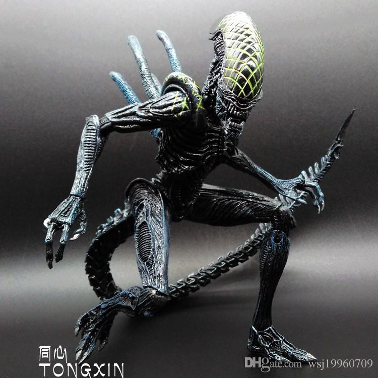 2018 SAINTGI Alien Vs Predator Toy Mixed Human AVP ABS