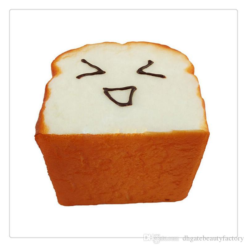 New Arrival Bread Squishy Kawaii Toast Squishies Slow Rising Expression Card Cellphone Holder Hand Pillow Bread Scent Toys Slow Rising Gifts