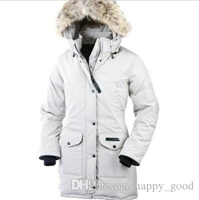 2018 Sexemara Outdoor Canada Warm Thicker Cold Cold Woman Goose ...