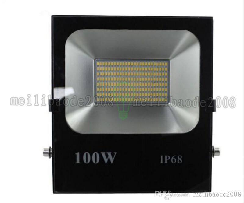 2017 nuevos reflectores 10W 20W 30W 50W 100W 150W 200W blanco Shell llevó la luz de inundación llevada del reflector al aire libre LED impermeable MYY