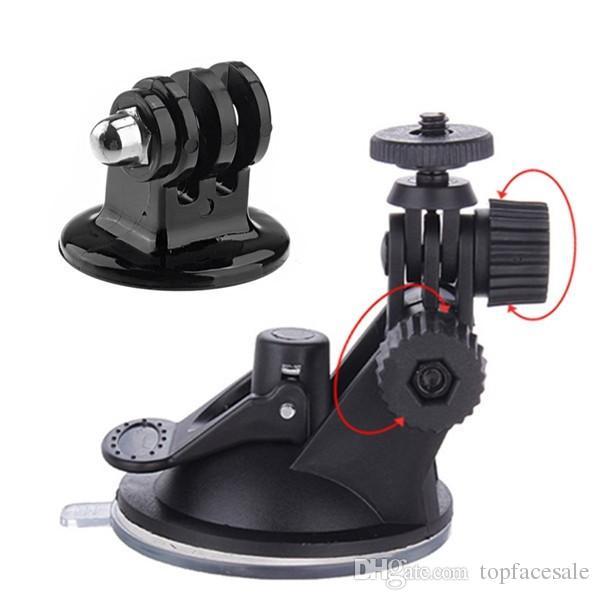 Für Gopro Zubehör Auto Saughalterung Stativhalterung Adapter Für Gopro Hero6 schwarz Hero 5 4/3 + / 3 Xiaomi Yi SJCAM SJ4000