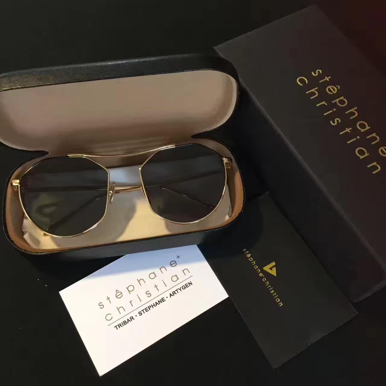 1830766b01d4 Stephane Christian Sunglasses DAYDREAM GDSV BK Gong Hyo Jin Fashion  Designer Brand Sunglasses New With Case Eyewear Designer Sunglasses From  Yogaw