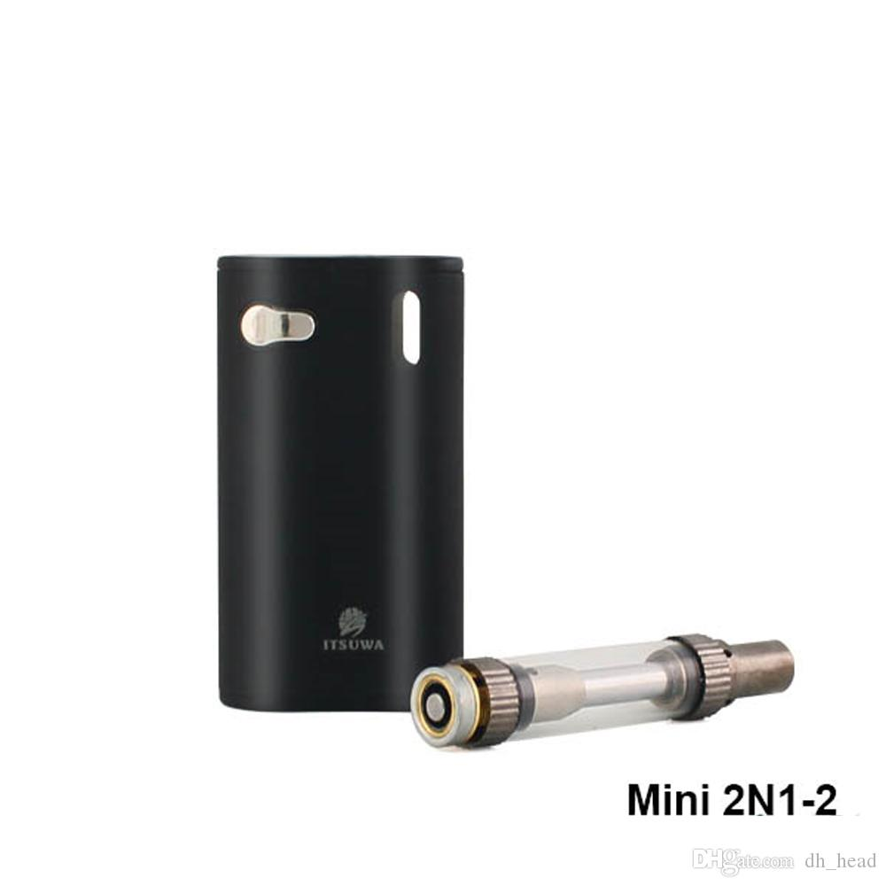 All in one device Amigo Mini 2N1 vape kit with 1000mAh Mini 2N1 30W mod 1ml Liberty extract oil vaporizer pen Co2 cartridges
