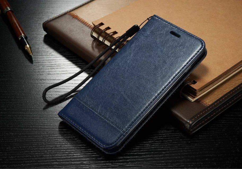 Роскошный кожаный магнитный флип бумажник чехол для iPhone 11 Pro Max XS XR 8 7 6 Plus Galaxy S10 S10e Примечание 10 9 8 S9 S8 S7 Пограничный Plus Бумажник Обложка