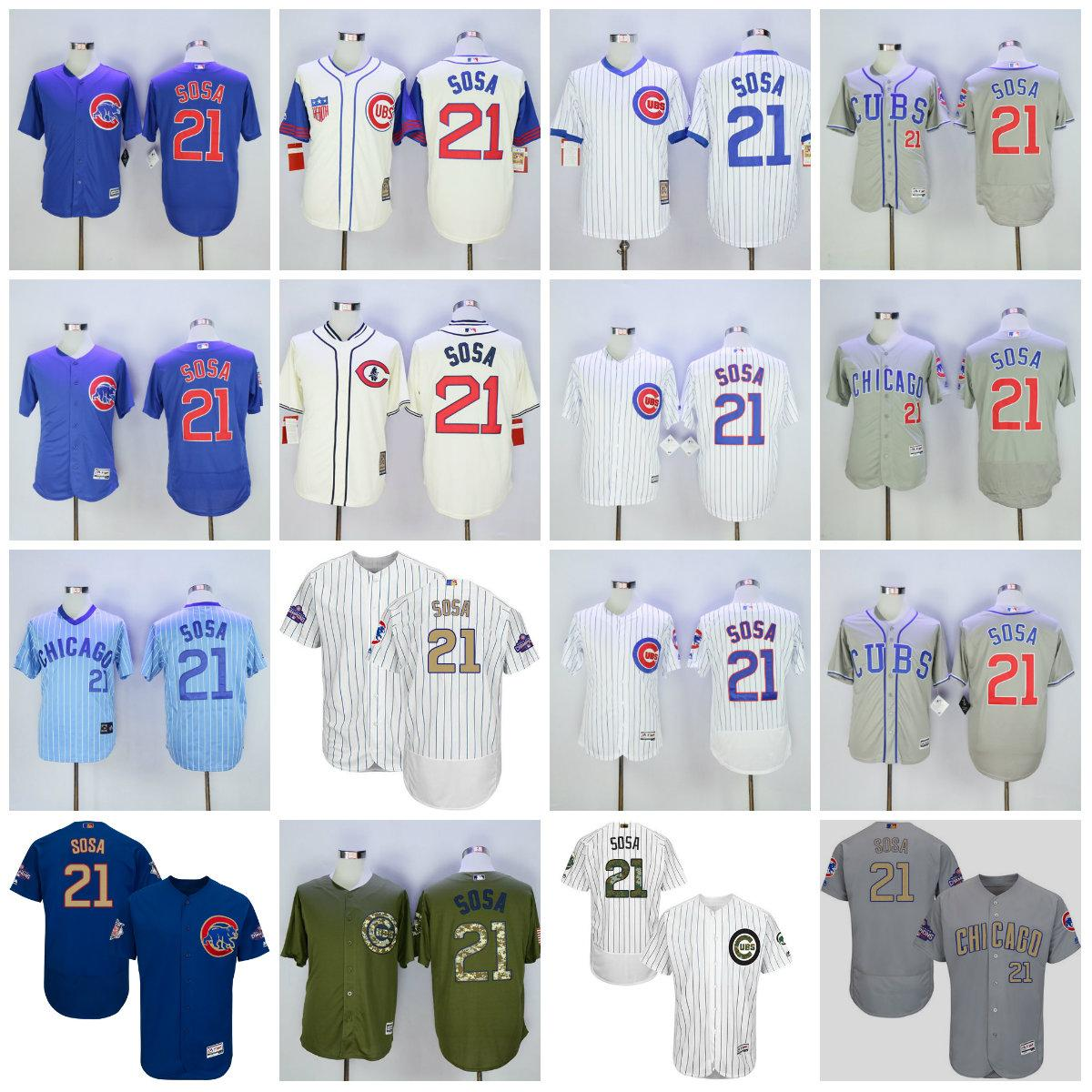 low priced cb400 1d326 21 sammy sosa jersey usa