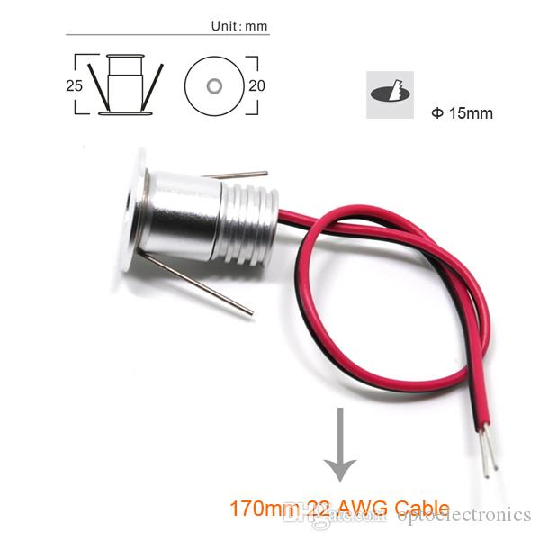 Magnificent 1W Mini Led Downlight Light With Led Power Supply Transformers 15Mm Wiring 101 Mecadwellnesstrialsorg