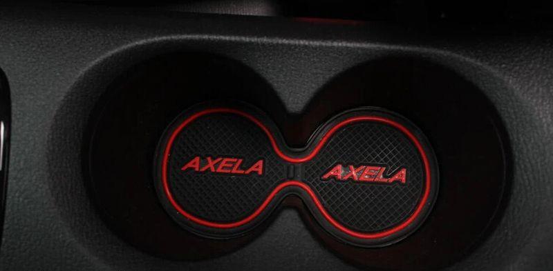 MAZDA 3 AXELA 2013 2014 게이트 슬롯 패드 고무 카 컵 매트 / 패드 미끄럼 방지 매트 자동차 액세서리 / set 자동차 스타일링을위한 고품질