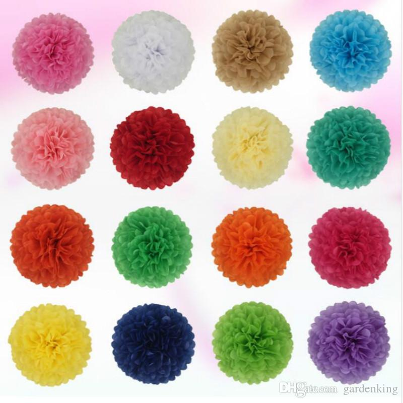 Pompon tissue paper pom poms flower balls for wedding room pompon tissue paper pom poms flower balls for wedding room decoration party supplies diy craft paper flower free shipping mightylinksfo