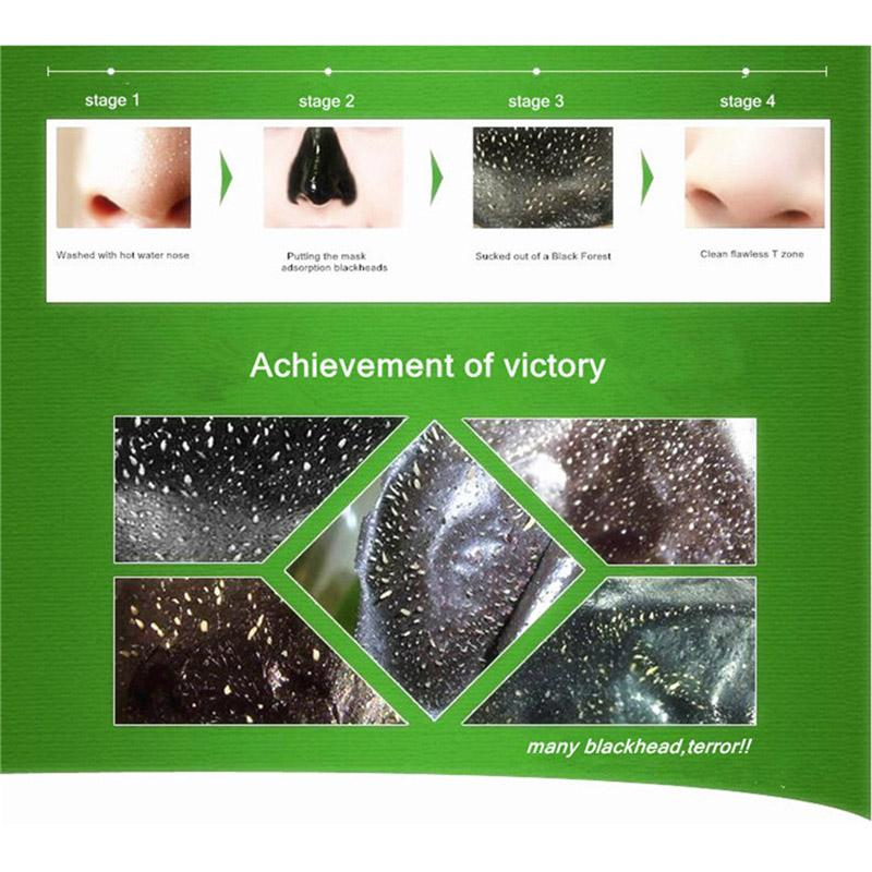 DOBERYL Blackhead Mask Skin Care Facial Blackhead Remover Nose Acne Treatments Deep Cleansing Mineral Mud EX Pore Strips Cleaner 6g 0611033