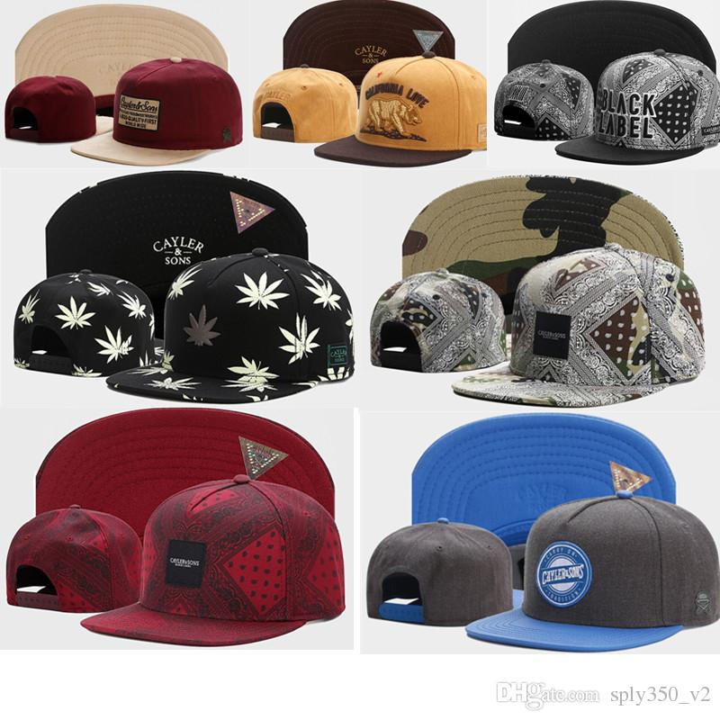 4c90ddcb747 Wholesale Cayler   Sons Baseball Caps Brooklyn Embroidery Hats Snapback Caps  Adjustable Dad Hats For Men Bones Snapbacks Bone Gorras Cap Mens Caps La Cap  ...