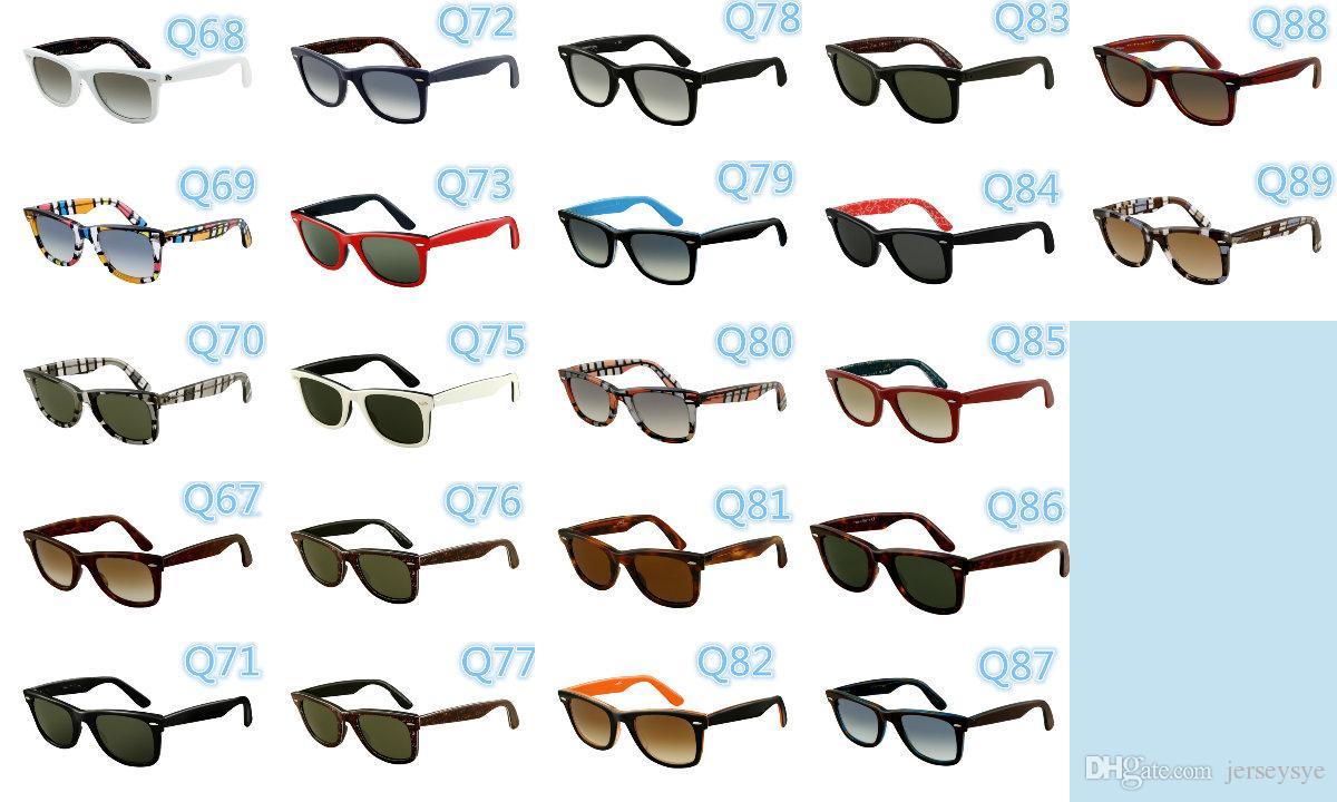 Compre Gafas De Sol Polarizadas Hombres Grueso Acetato Marco ...