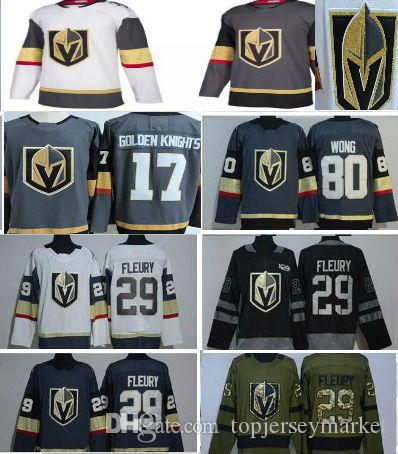 c2833517e ... greece vegas golden knights 2018 hockey jersey 17 golden knights 29  fleury 100 stitched embroidery hockey