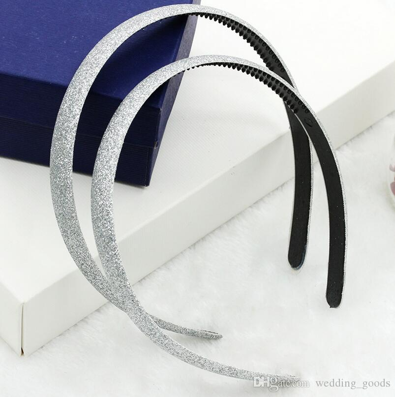 Best gift Popular hot flashing frosted gold candy color hair ornaments hair hoop head hoop explosion section TG008 a