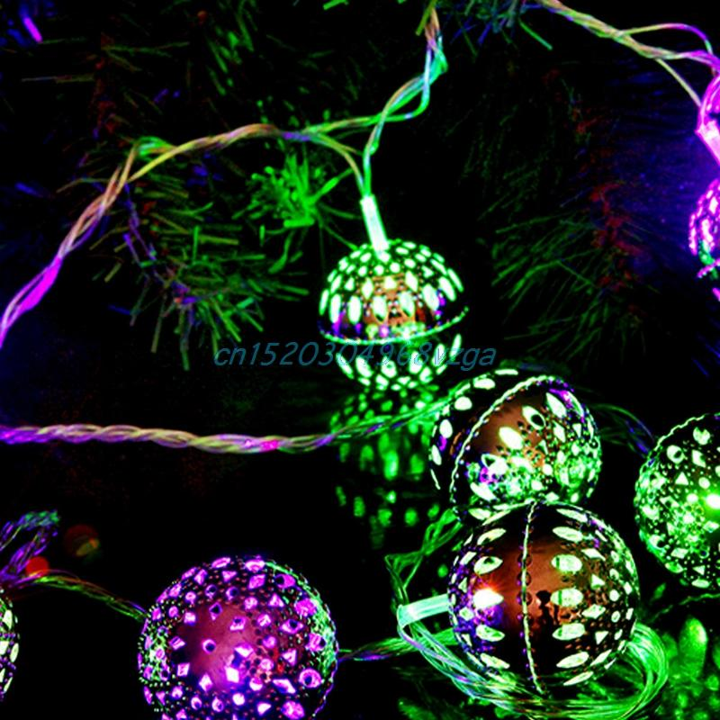 Wholesale string fairy lights ball led christmas lights outdoor wholesale string fairy lights ball led christmas lights outdoor guirlande lumineuse exterieur navidad luces decorativas 2m 20 metal h028 star string aloadofball Gallery