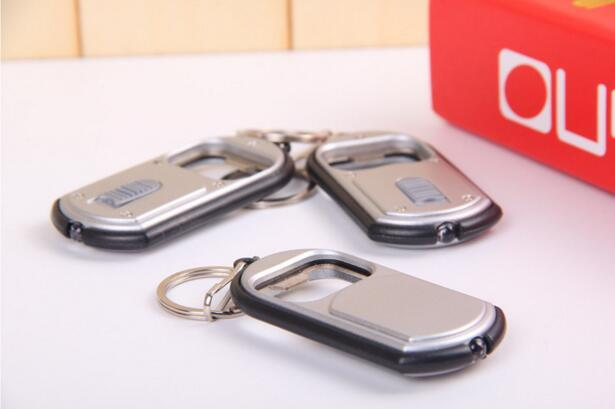 3 In 1 LED Flashlight Torch Keychain with Beer Bottle Opener Key Ring Chain Keyring Kitchen Tools Accessories 3*6.5cm
