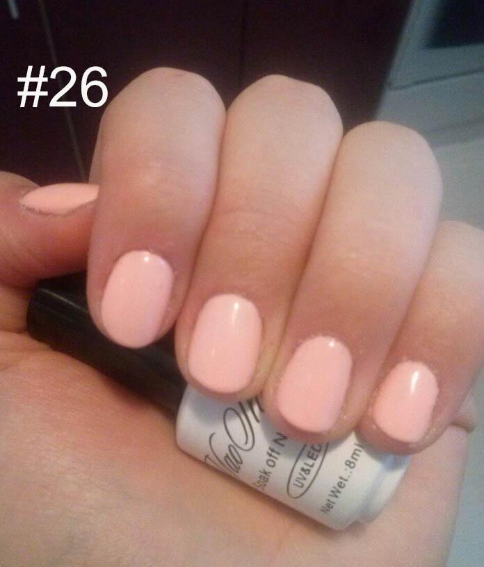 Wholesale Yaoshun #26 Nude Color Nail Polish Uv Soak Off Gel Varnish ...