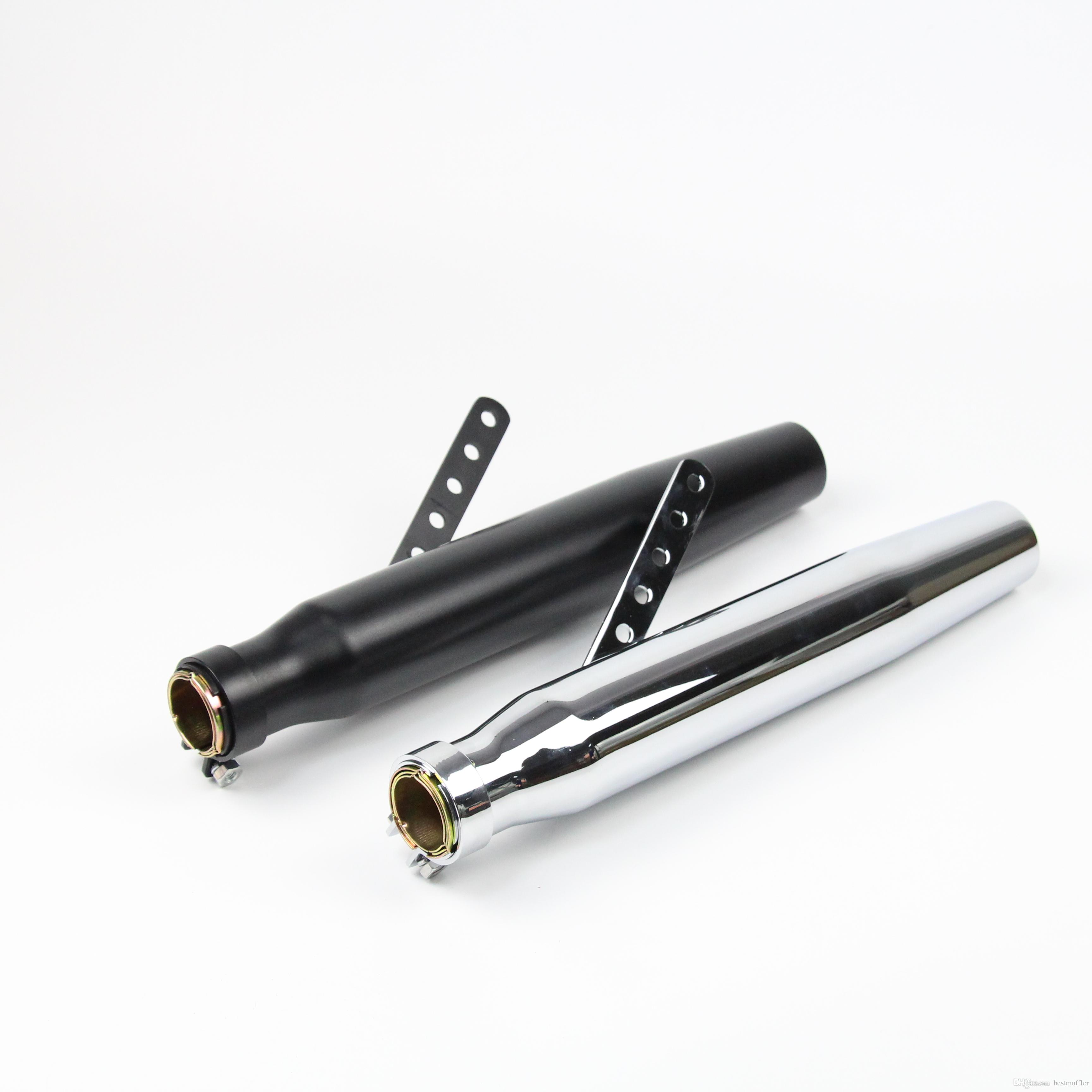 49mm Universal Motorcycle Exhaust Pipe Stainless Steel Exhaust System With Slip On Dirt Street Bike Motorcycle