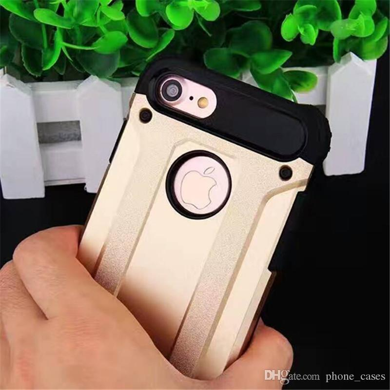 For LG V10 Hybrid Armor Cases For LG K10 K8 K7 K5 G5 G4 STYLUS/LS770 Dual Layer Luxury Plastic Phone Cases Cover